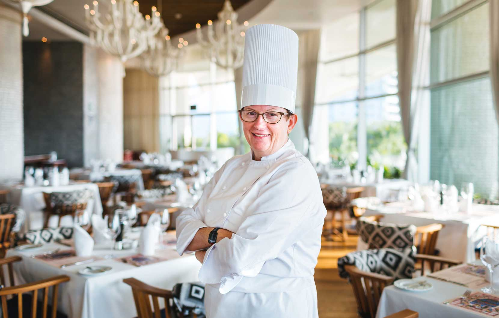 Chef Raymonde Wolff has been eager to bring her personal flair to Mexico.