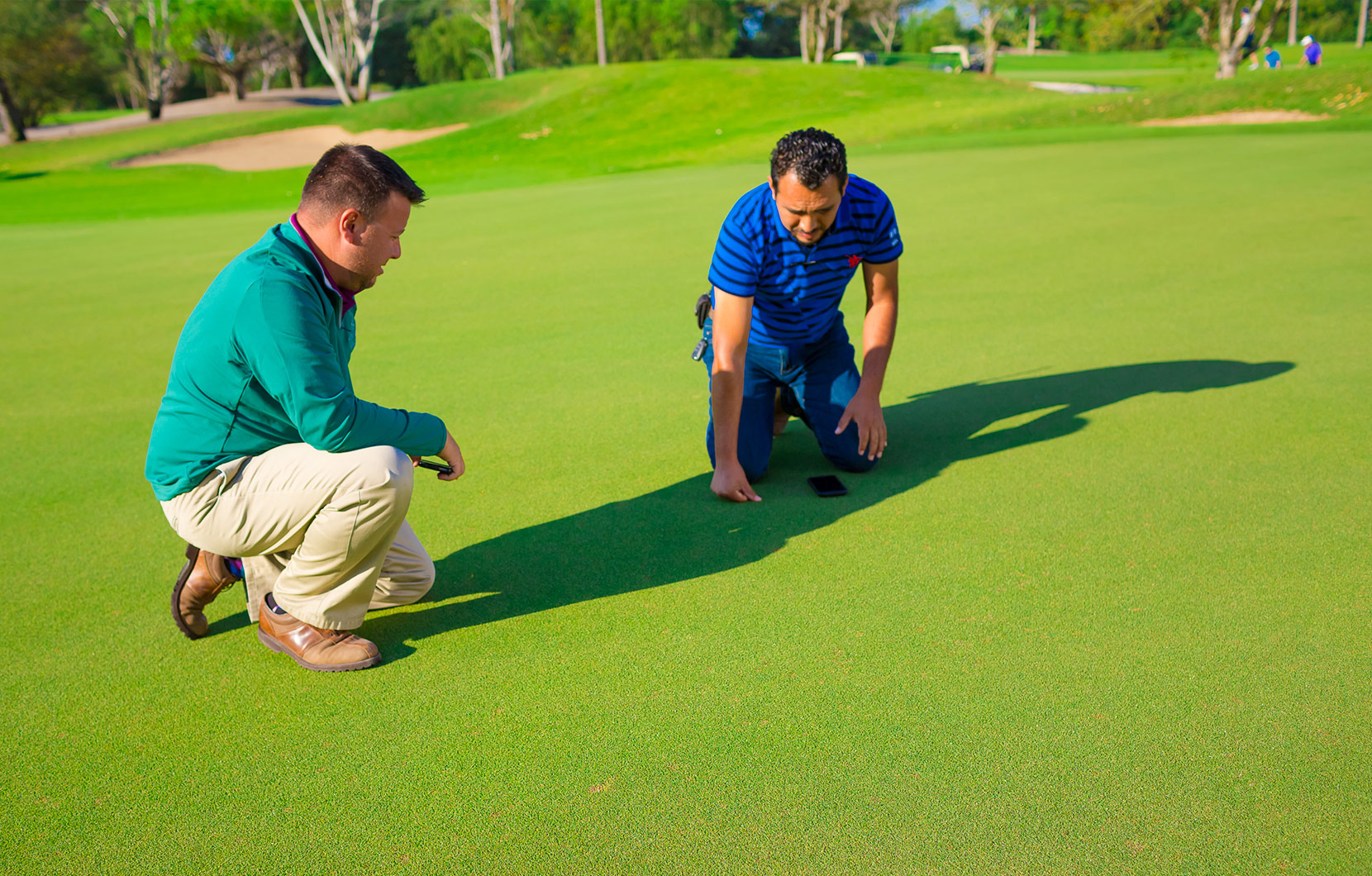Shane oversees the planting and maintenance of all the Vidanta Golf courses.