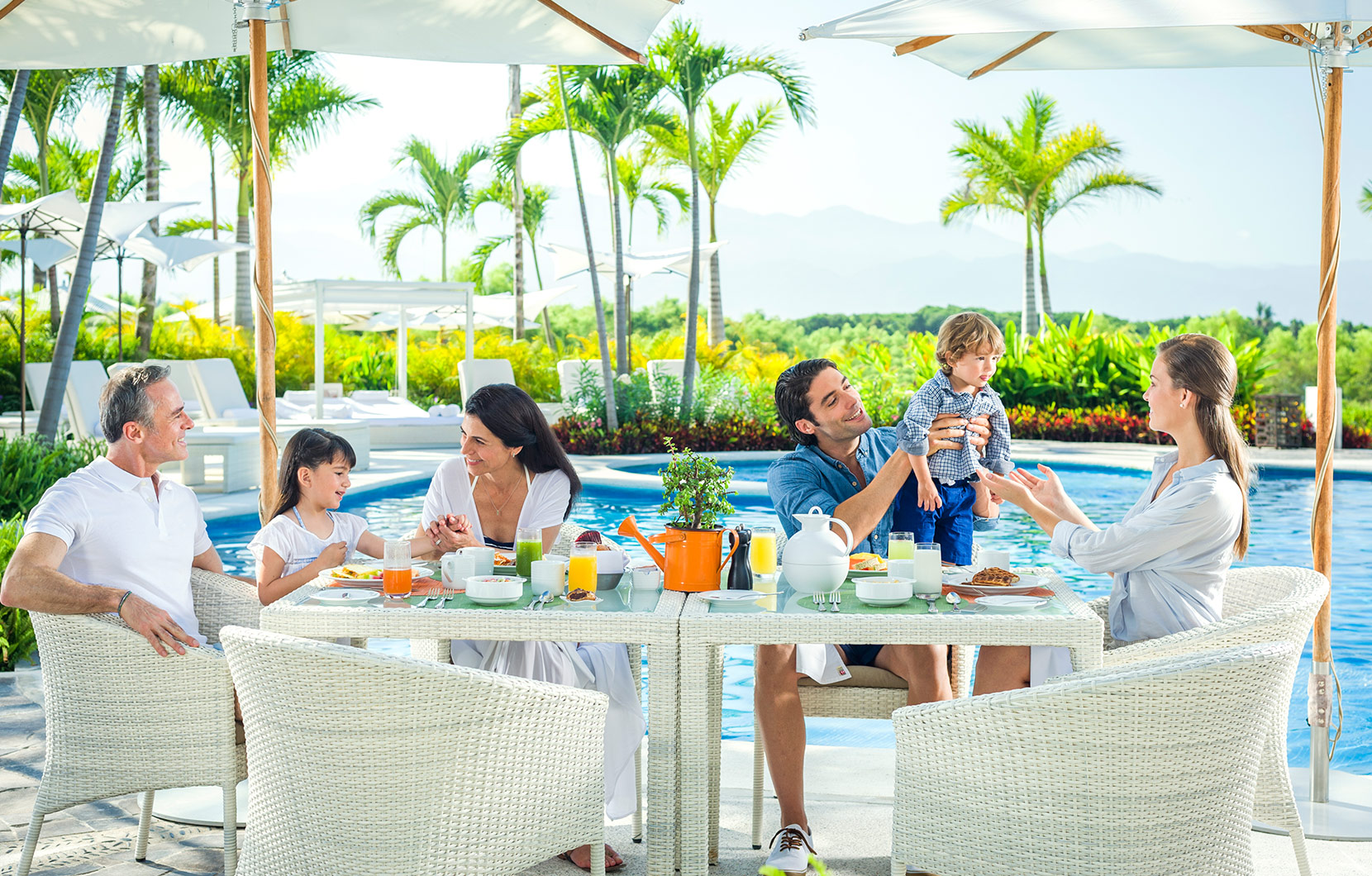 The whole family can spend the week having fun together with The Mas The Merrier Package.