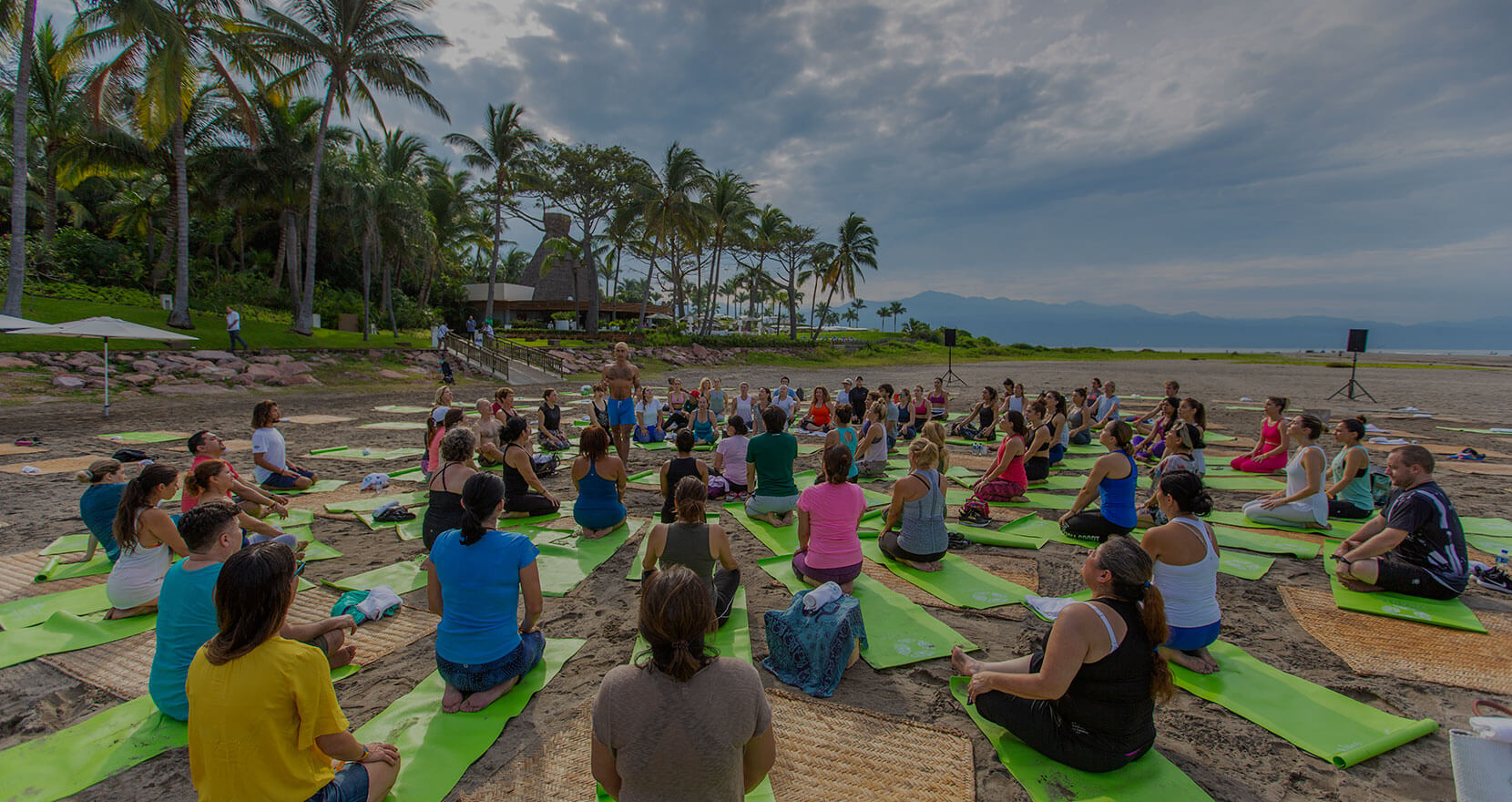 """Encontrando su """"centro"""" en Vidanta Wellness Retreat"""