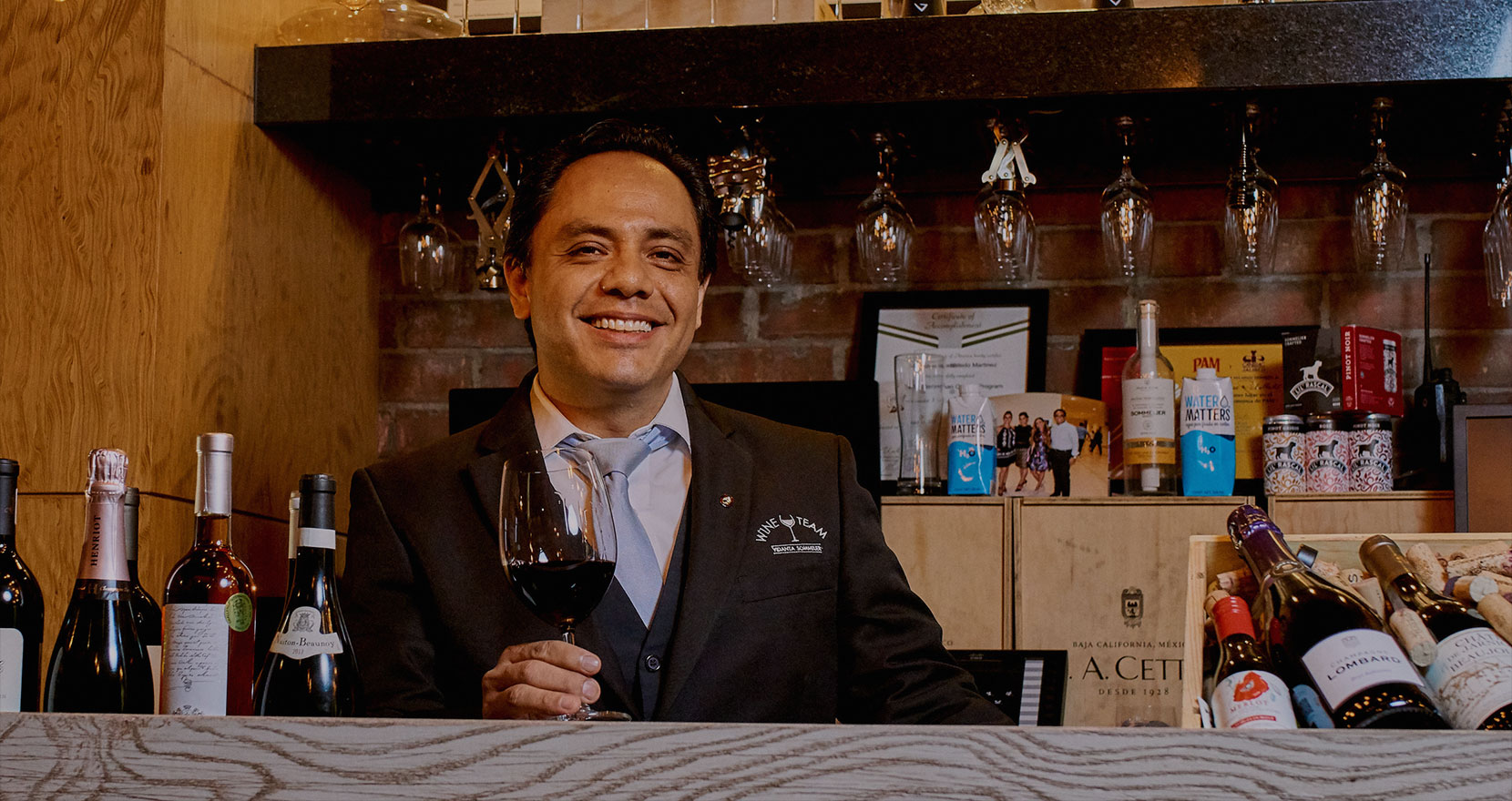 Wine Pairing Tips from Our Certified Sommelier